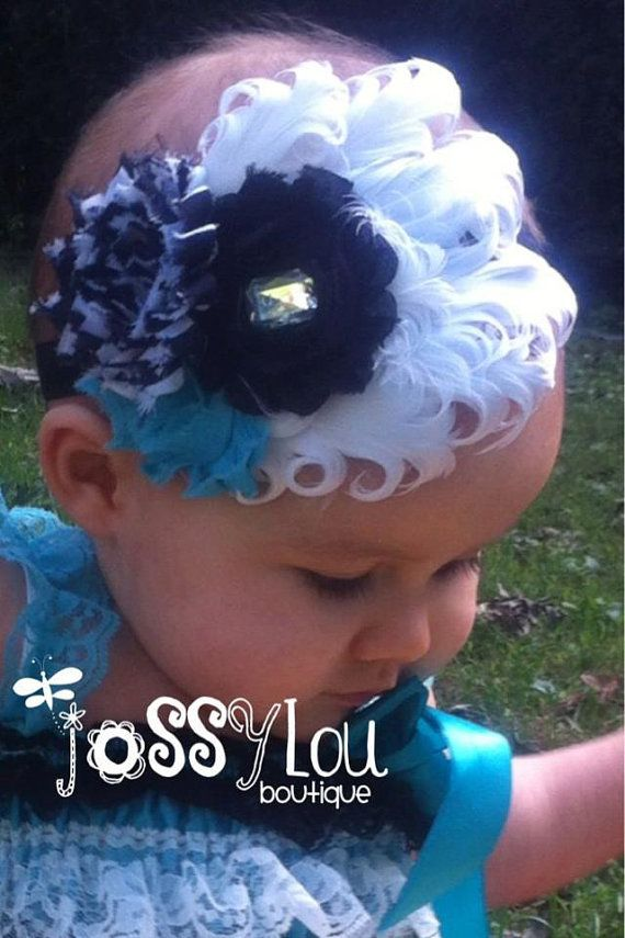 Baby fascinator and romper over by JossyLou, $30.00