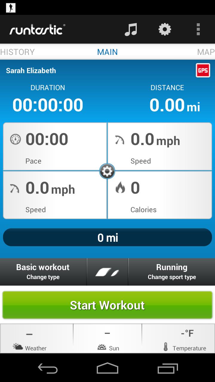 runtastic app Google Search Fitness tracker app, Fun