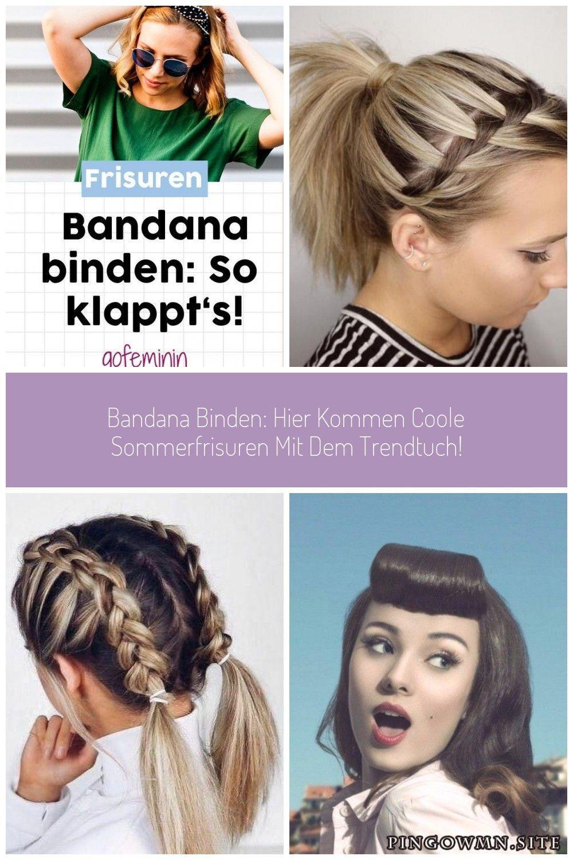 Frisuren Mit Bandanas Sind So Schon Bandana Frisuren Haare Hairstyling St Stirnband Baby Clod Sommerfrisuren Stirnband Baby Frisuren Offene Haare