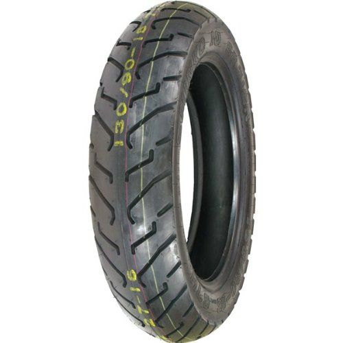 Shinko 712 Rear Tire 130 90h 16 Staggered Tread Pattern Provides Excellent Wet Weather Performance Variety Of Sizes To Fit Both Modern And Older Bikes Tu