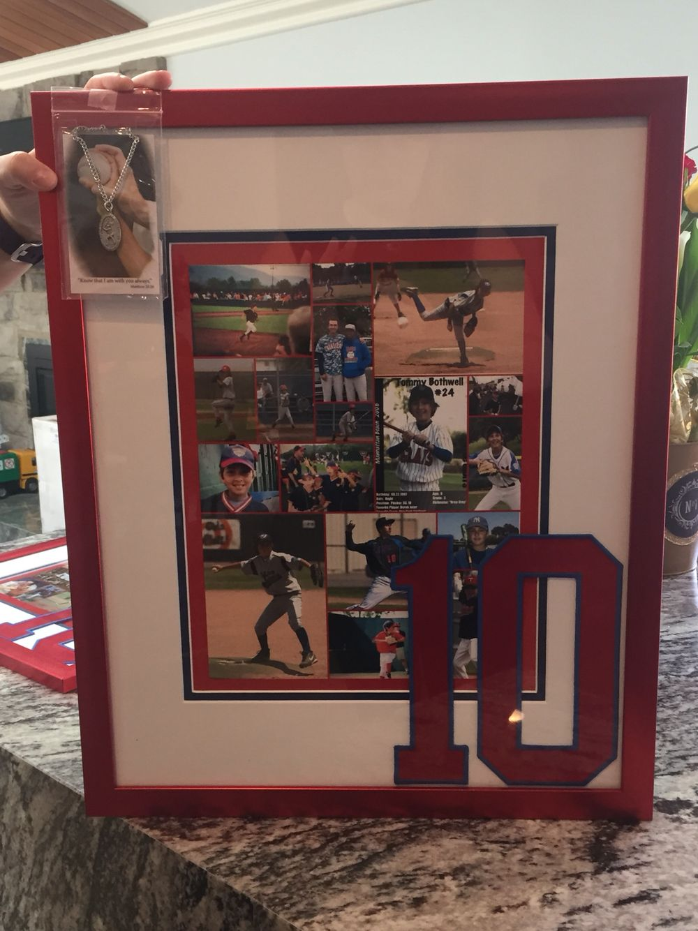 Gift for Senior Night for graduating baseball players