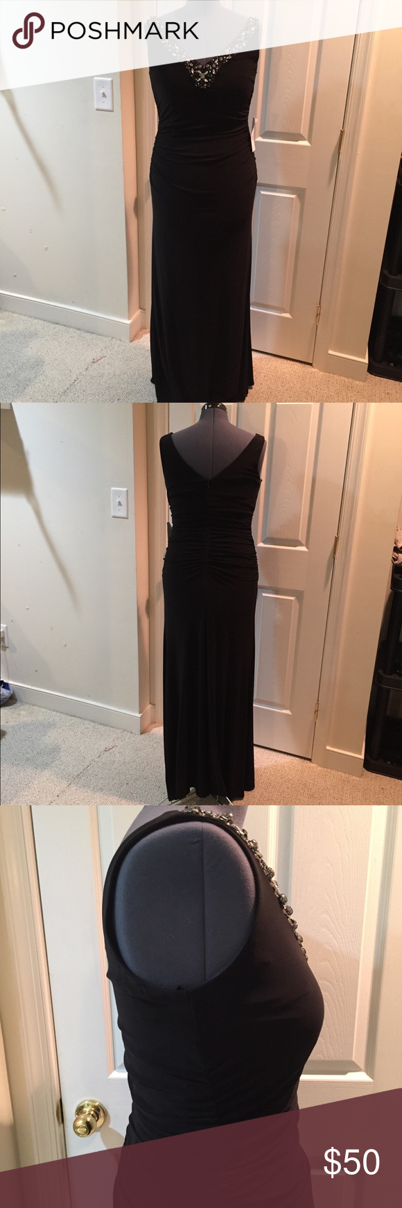 Xscape black formal gown nwt nwt my posh picks pinterest gowns