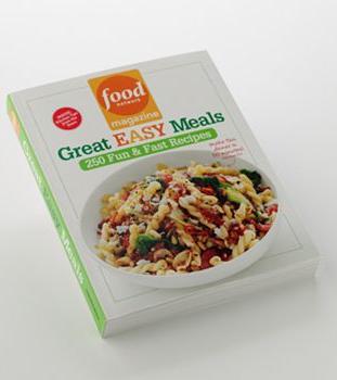 Food network magazine great easy meals cookbook cookbooks food network magazine great easy meals cookbook forumfinder Gallery