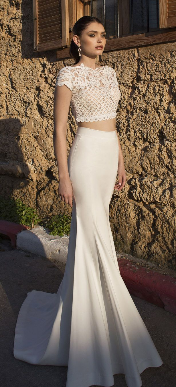 Bridal Trends: Two- Piece Wedding Dresses {Riki Dalal - Lorraine Collection 2015}