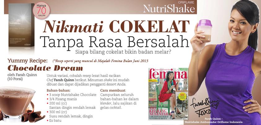 Takut Gemuk Konsumsi Coklat Kini Tidak Lagi Dengan Nutrishake Coklat Yang Sehat Dan Alami Yuk Coba Resep Minuman Hidup Sehat Minuman