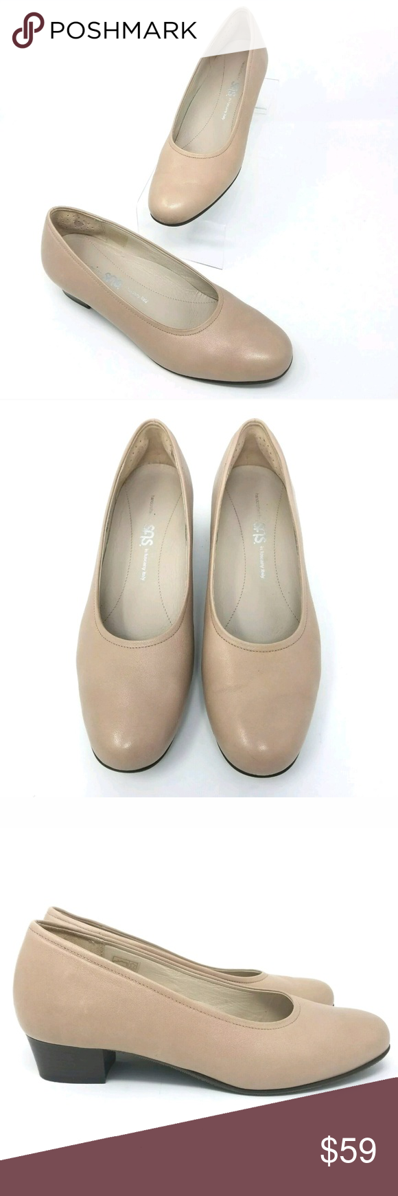 buying new performance sportswear great look SAS Womens Dress Shoes SAS Womens 7 N Italy Leather Beige Pump ...