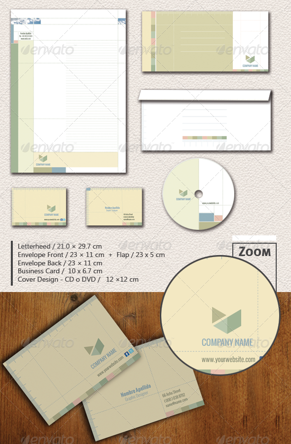 Corporate Stationery / / Soft and Warm Stationery