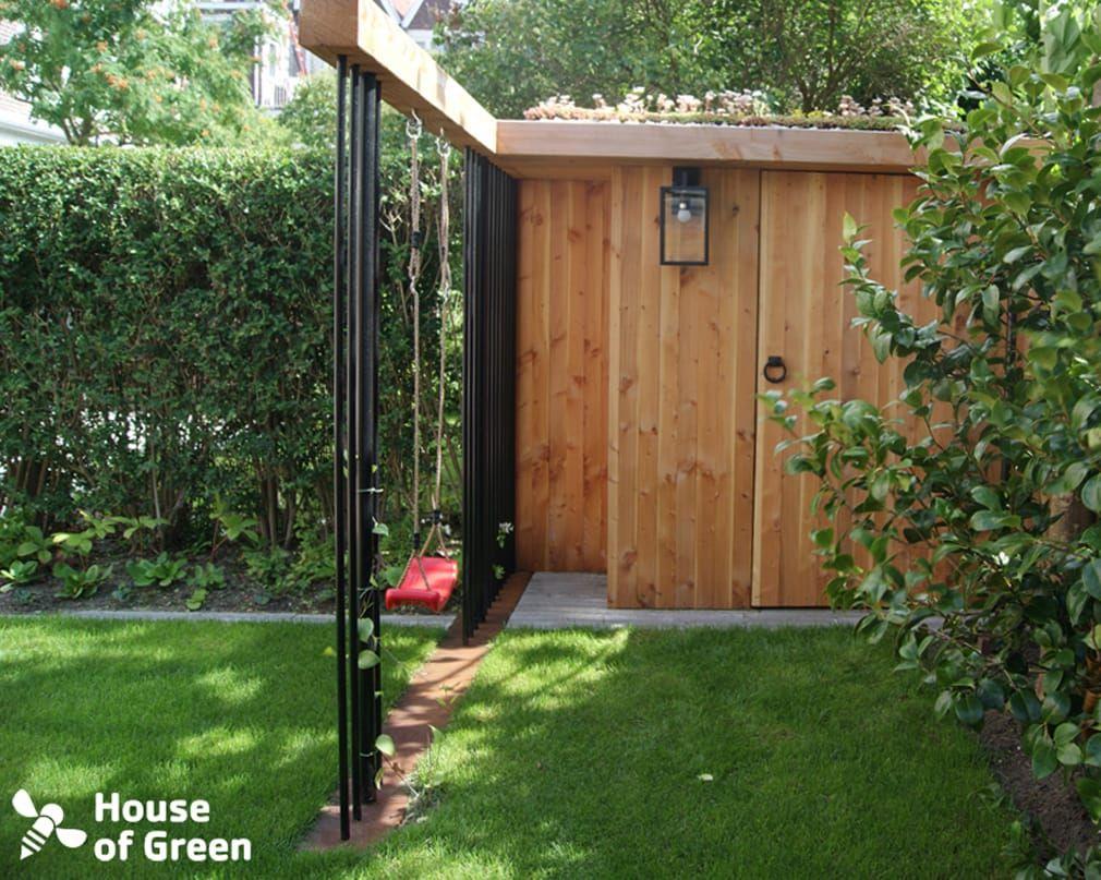 Fonkelnieuw Tuinhuis met schommel: modern door house of green, modern | Garden CL-69
