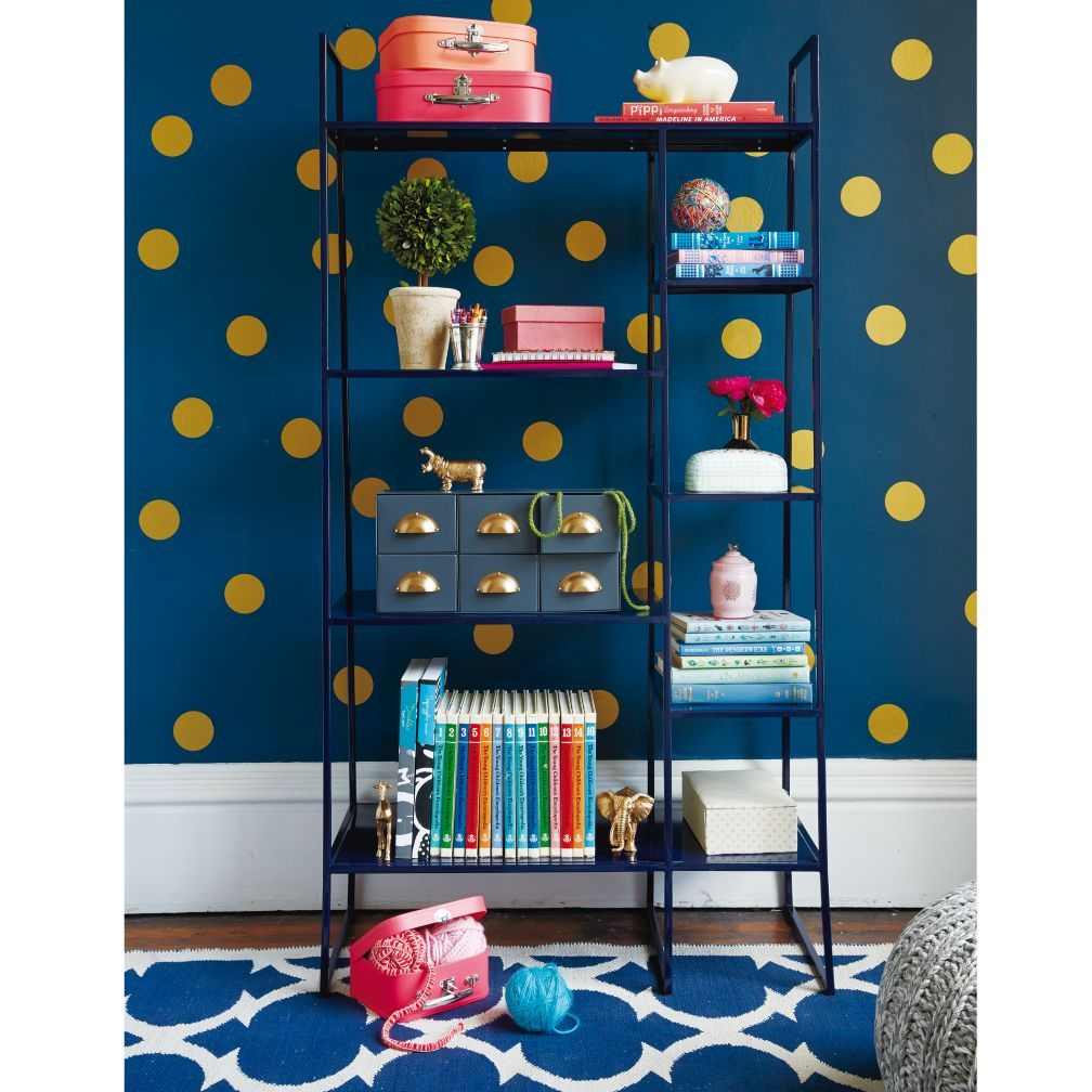 Gold Polka Dot Decals is part of Gold Home Accessories Polka Dots -