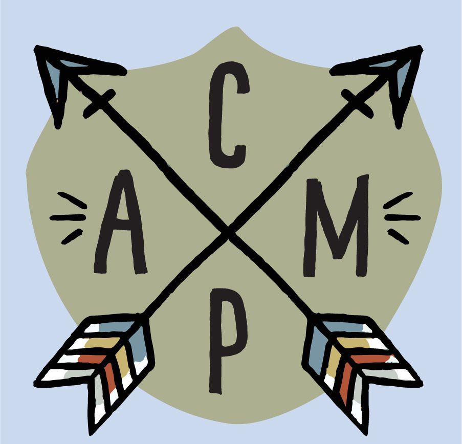 Camping Clipart, summer clipart, bullet journal stickers