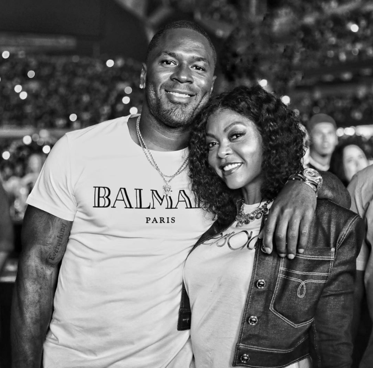 Taraji P. Henson And Fiancé Kelvin Hayden Had A Romantic