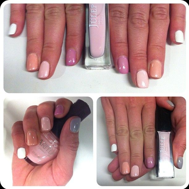 Demure ombré at #SephoraHQ #nailspotting Try the trend this weekend