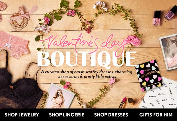 Valentine's Day Boutique | Newsletters | Email design, Email