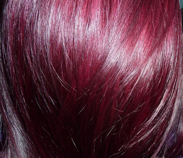 Wella  beautiful red violet hair color bet this would look great against my pink also rh pinterest