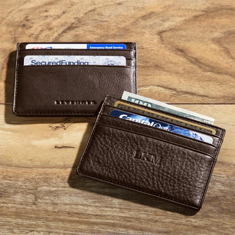 RFID Card Stack Wallet Leather card wallet, Wallet
