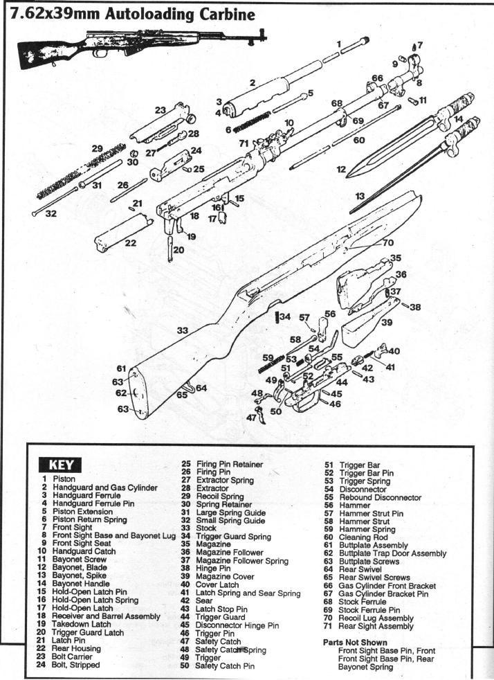 sks trigger schematic