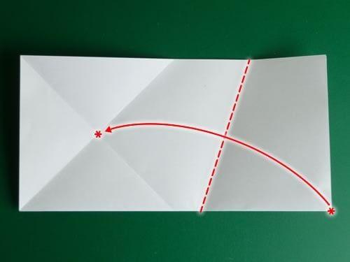 Wiederhole diesen Schritt im Uhrzeigersinn für alle anderen Spitze. #origamianleitungen