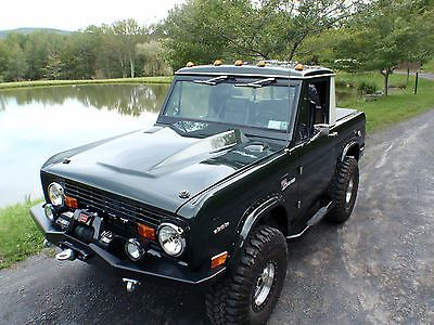1968 Ford Bronco Half Cab U14 Used Ford Bronco For Sale In Rye
