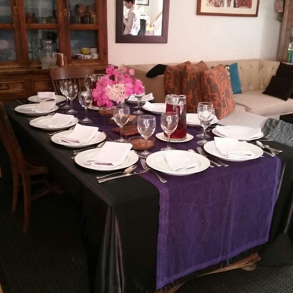 La mesa está puesta