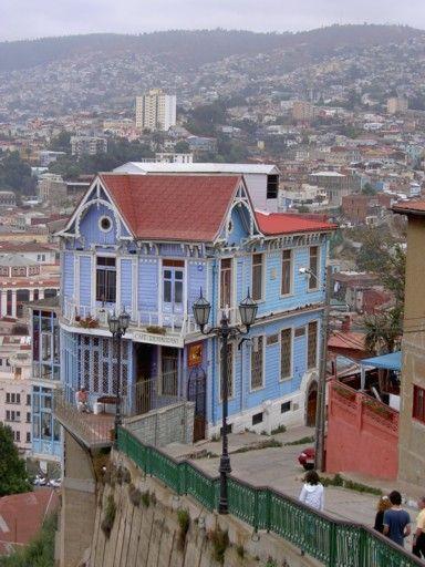 Cerro Artilleria Chile Chile Valparaiso Places