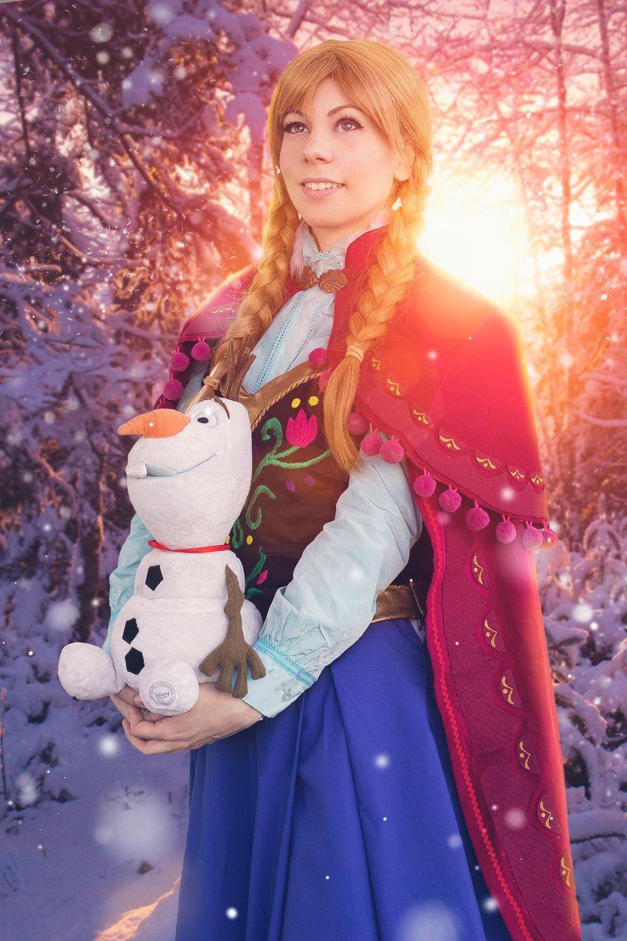 "Anna of Arendelle by Phadme.deviantart.com on @DeviantArt - From ""Frozen"""