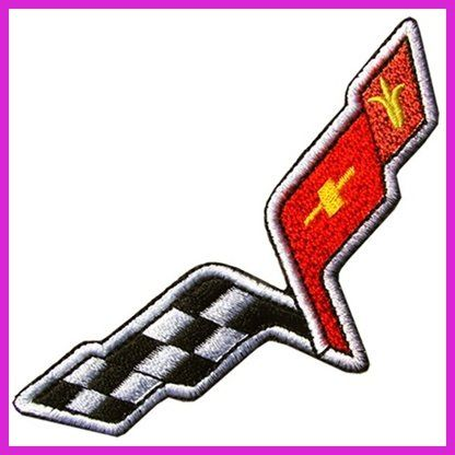 Corvette CAR Chevy C6 C5 Racing Embroidered NOS Turbo Jacket Cap on Patch - http://www.carhits.com/corvette-car-chevy-c6-c5-racing-embroidered-nos-turbo-jacket-cap-on-patch/