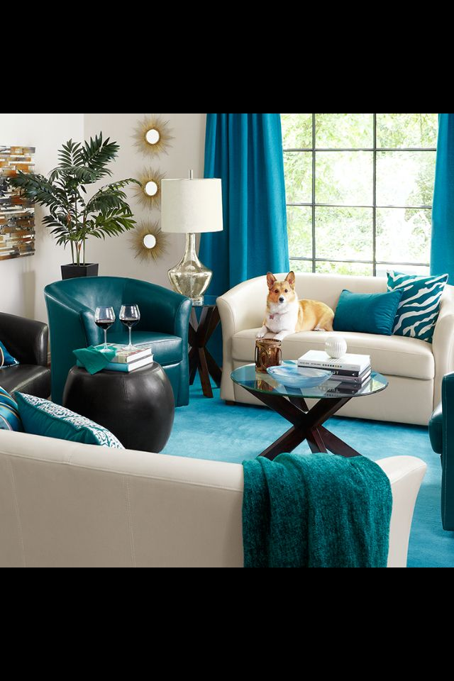 glamorous pier one living room | From pier one imports. Love the colors!! | Teal living ...