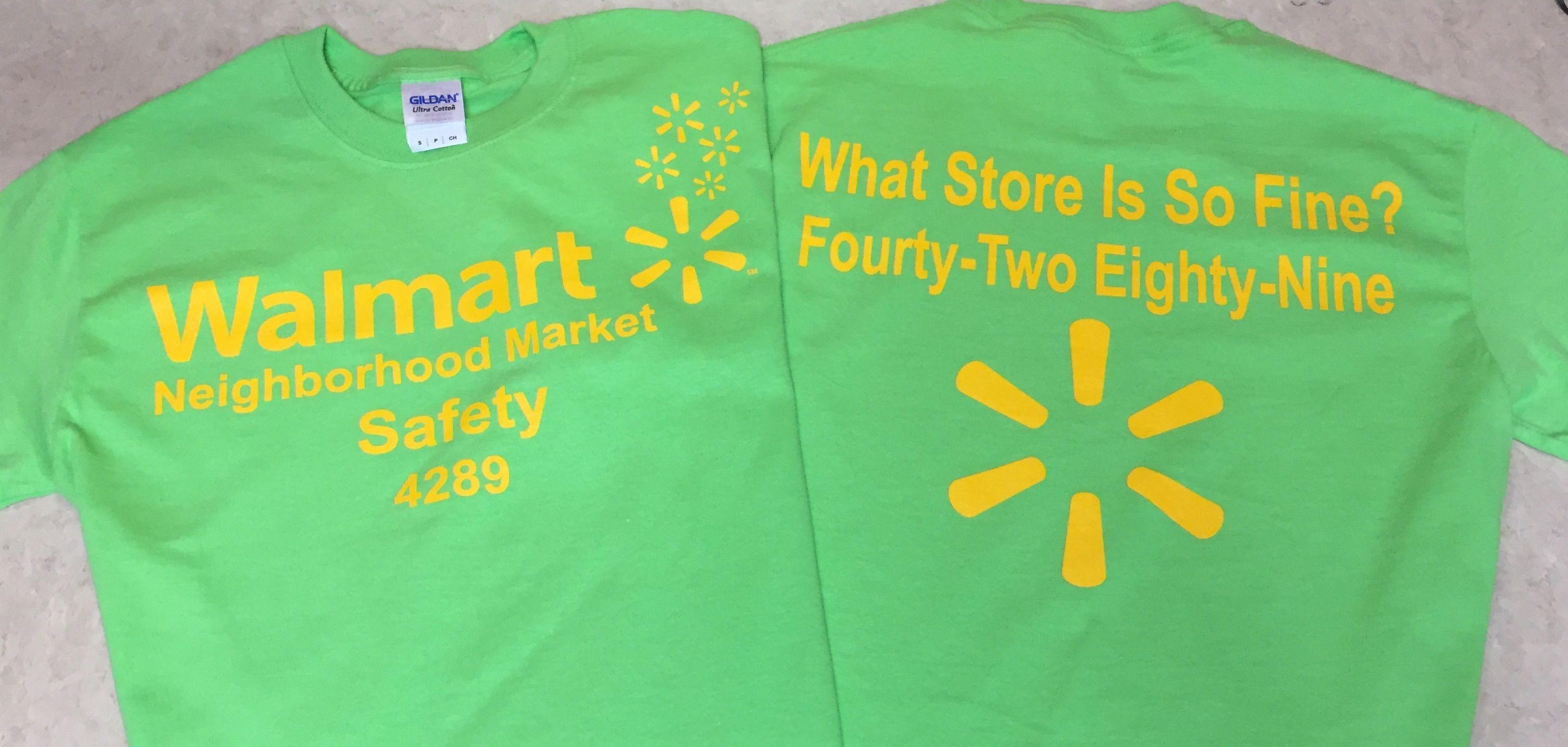 Walmart Neighborhood Market Safety