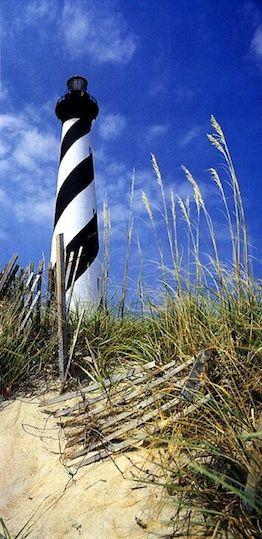 Cape Hatteras Lighthouse, North Carolina: tallest lighthouse in U.S.