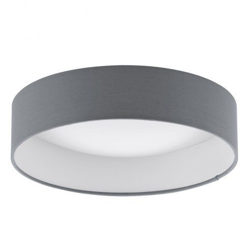 eglo lighting palomaro single light led small flush ceiling fitting