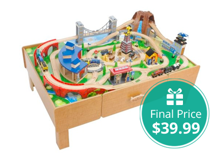 Imaginarium Train Set with Table Only $39.99!  sc 1 st  Pinterest : imaginarium train set with table - pezcame.com