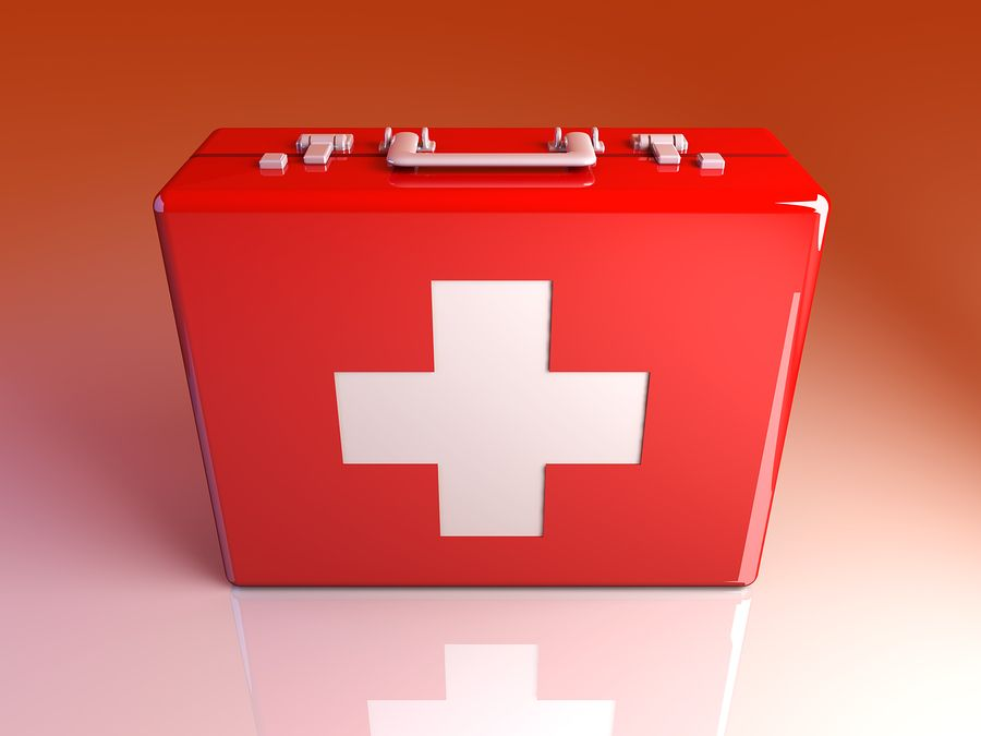 Caregiver activities building a first aid kit for your