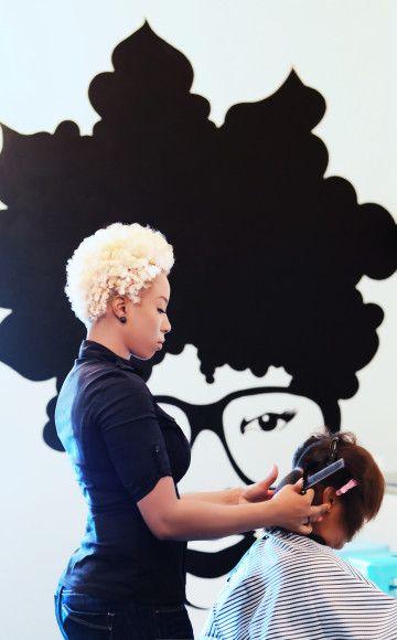 The Doux Salon Blow Dry Parlour Ga Curls Understood Natural Hair Styles Natural Hair Salons Bad Hair