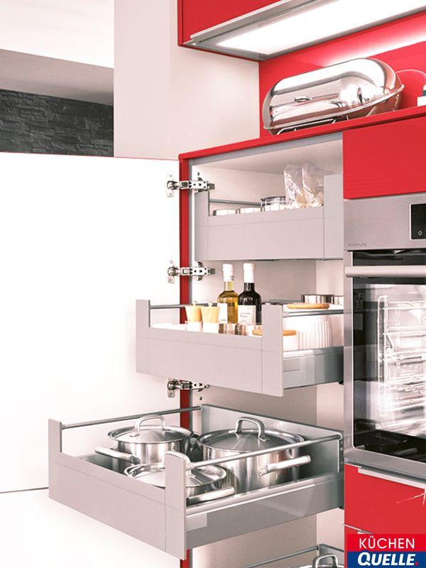 Hochschränke für die Küche sind flexibel und können individuell auf ...