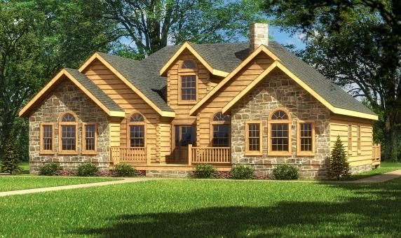 Halifax log home southland log homes new house plans for Southland log homes
