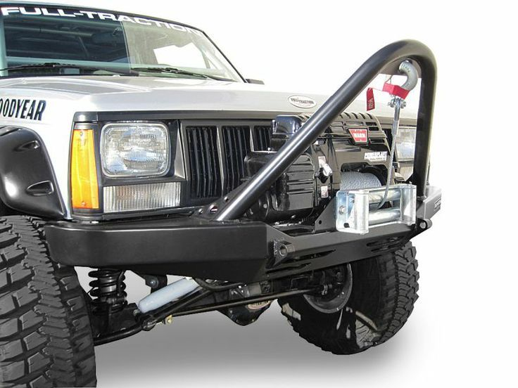 Hanson Offroad Stinger Front Winch Bumper Jeep Xj Jeep Cherokee