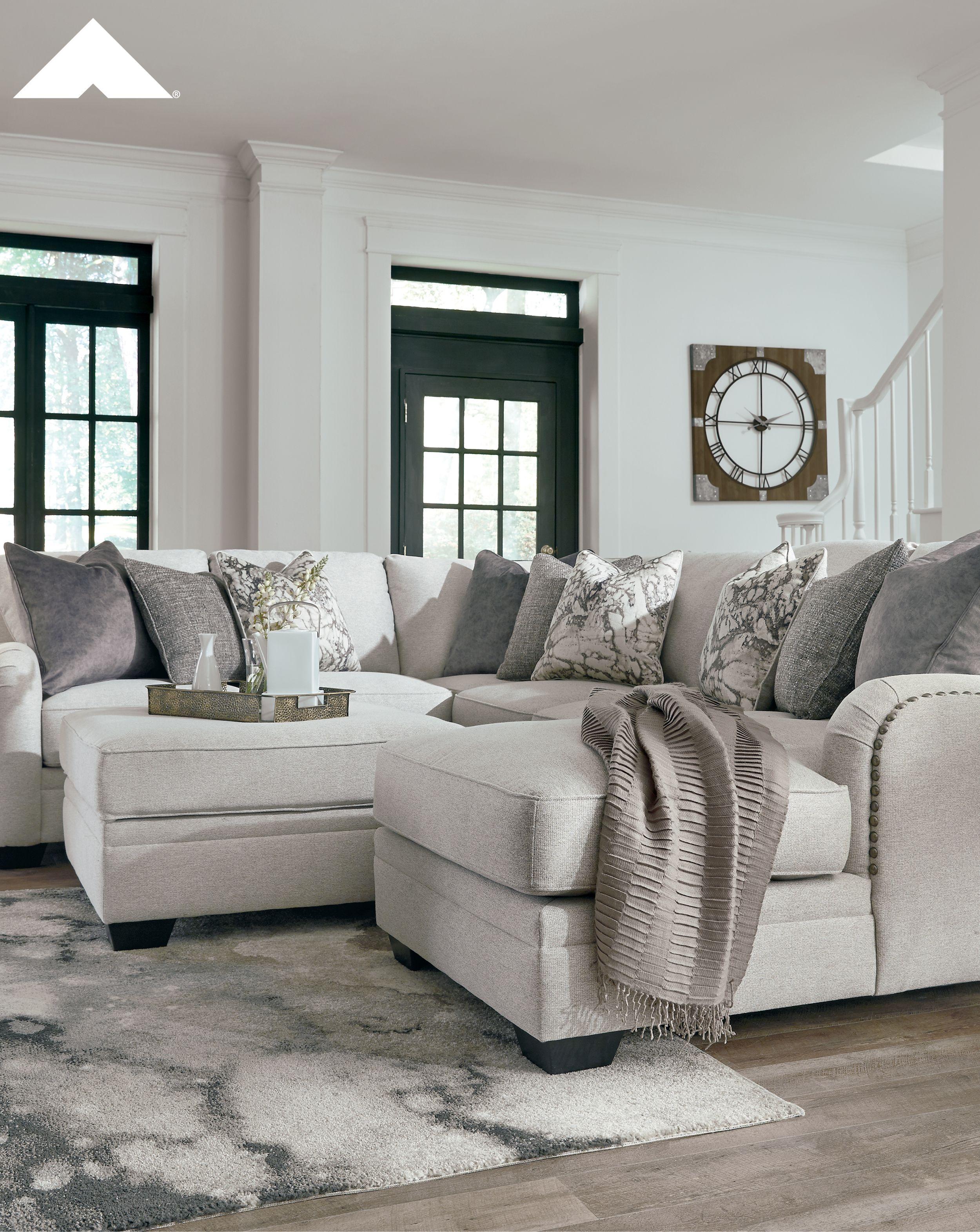 Dellara Chalk Ottoman With Storage By Ashley Furniture