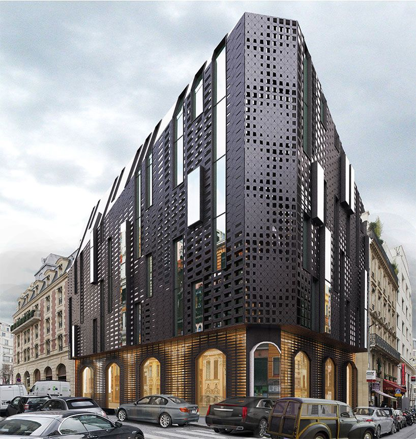 Galway Hotel Paris Concept By Architect Taras Kashko