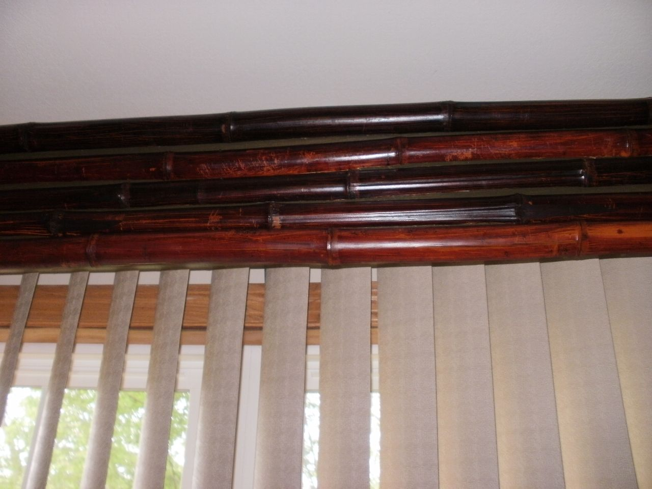 Make Your Own Bamboo Cornice Valance For Room Requires