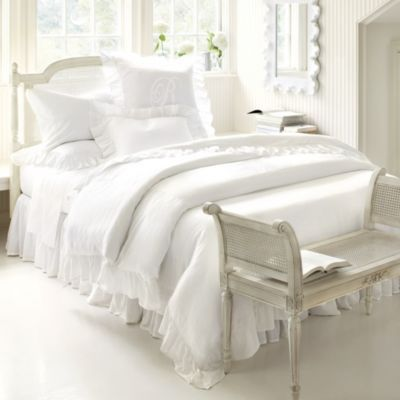 Best Hailey Ruffled Duvet Ballard Designs All White Bedroom 400 x 300