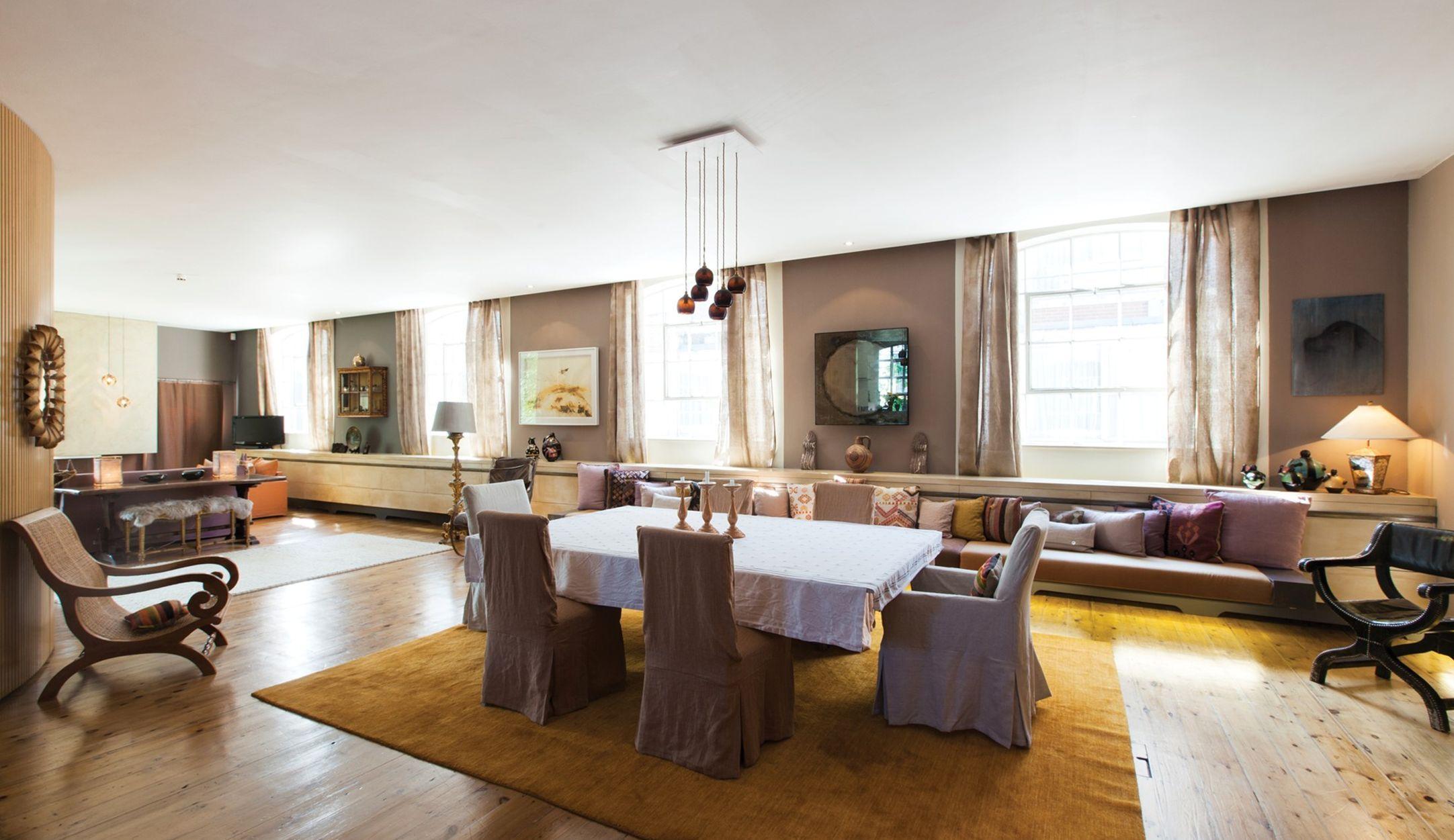 70 moderne innovative luxus interieur ideen frs wohnzimmer gross raum extravagant haengend lampen essbereich