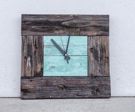 Часы из старого дерева | Marcos cuadros | Pinterest | Reloj, Relojes ...