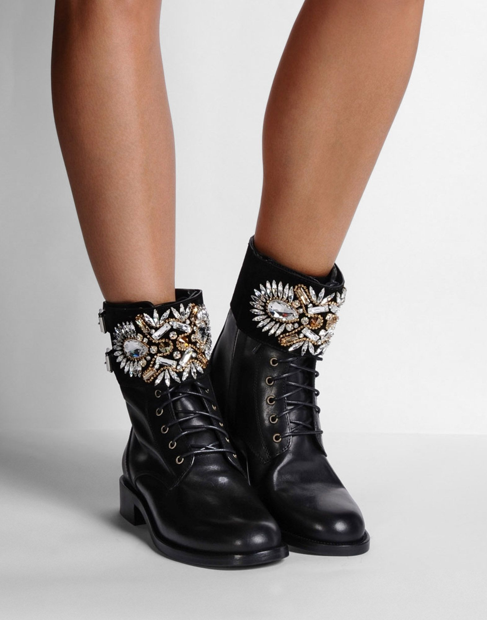 René Caovilla Rene Caovilla Suede Embellished Booties looking for for sale xeMdVGZNg