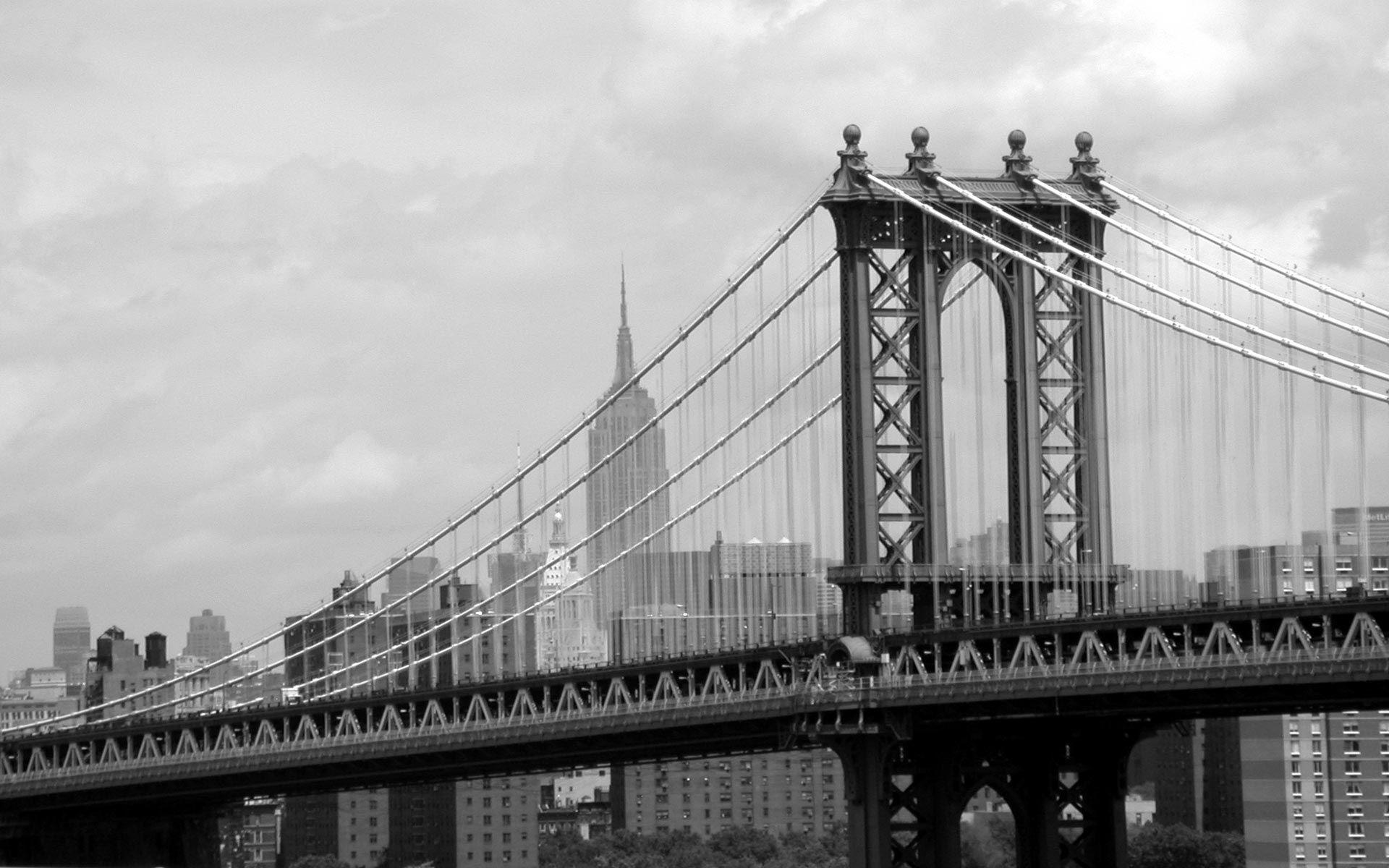 Black And White Pictures 3 Brooklyn Bridge New York Brooklyn