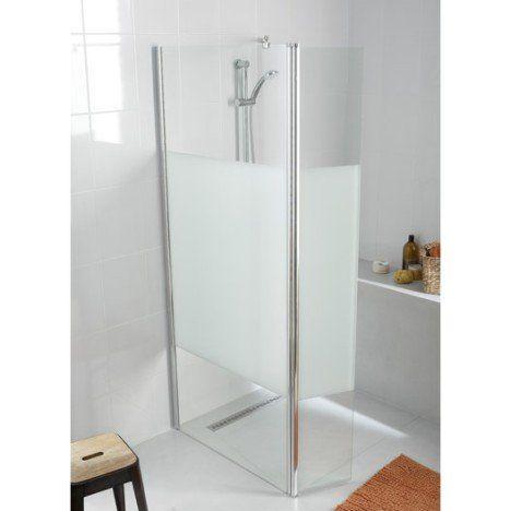 paroi de douche à l'italienne open 2 6mm, profilé chromé, l. (88.5, Badkamer
