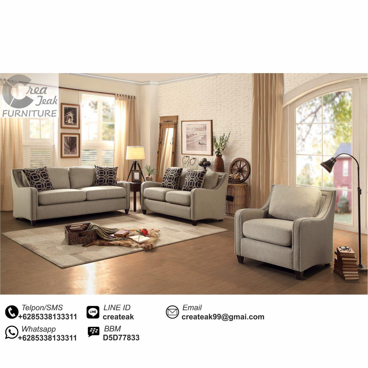 Set Sofa Tamu Minimalis Modern Yessy