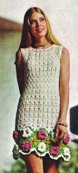 Hippie Mini Skirt Dress Crochet Knit Patterns Sweater Poncho Cap
