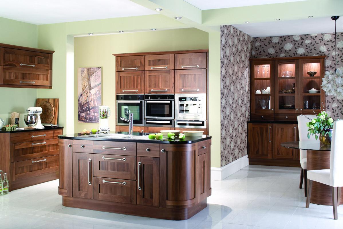 Dark wood kitchen Kitchen fittings, Kitchen, Kitchen styling