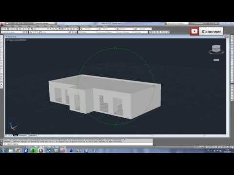 Apprendre la 3D sur Autocad en moins de 25 minutes مجلتك المعمارية