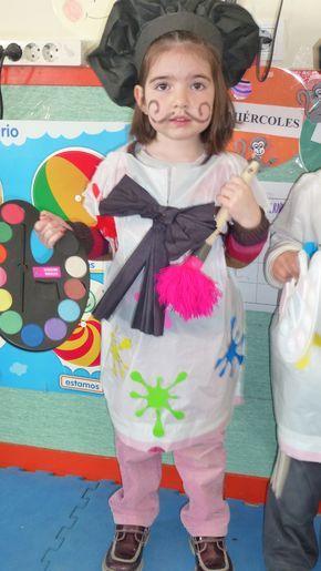 Disfraz Pintora Hecho En Casa Disfraz Pinterest Disfraces - Disfraces-hechos-en-casa